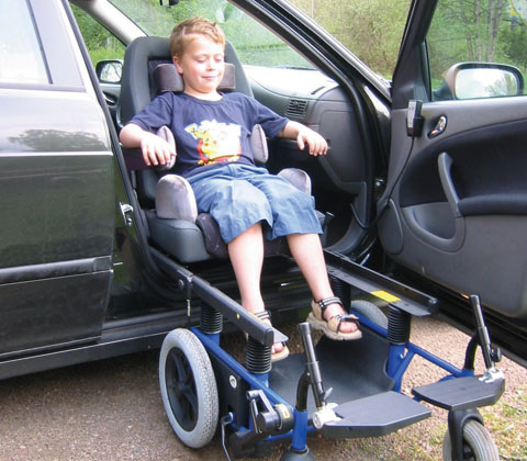 Car Seats For Disabled Passengers