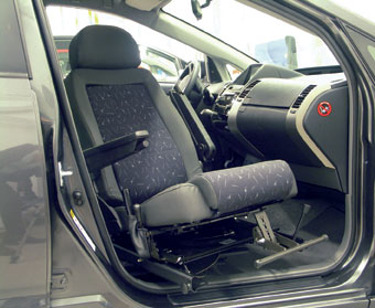 Swivel Seats For Disabled Drivers And Passengers