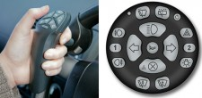 Infra red steering device