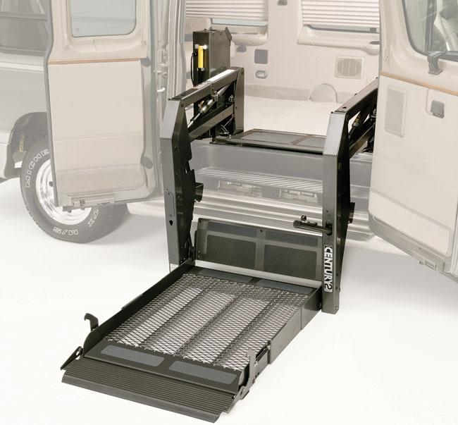 Occupied Wheelchair Lift Ergomobility
