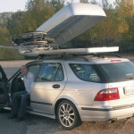 Wheelchair rooftop box