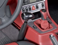 Floor mounted push-pull hand controls