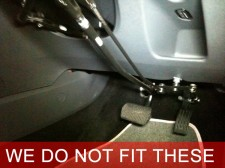 Push-pull hand controls DON'T FIT