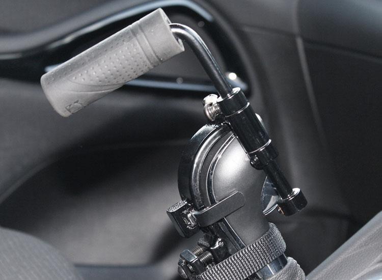 Easy release gear lever